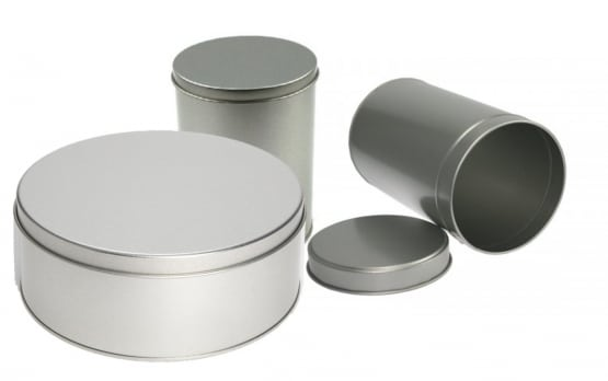 Round Stock Tins