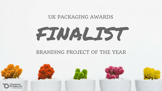 We're a Finalist at The UK Packaging Awards!