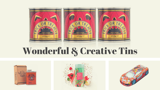 Packaging Roundup: Wonderful & Creative Tins