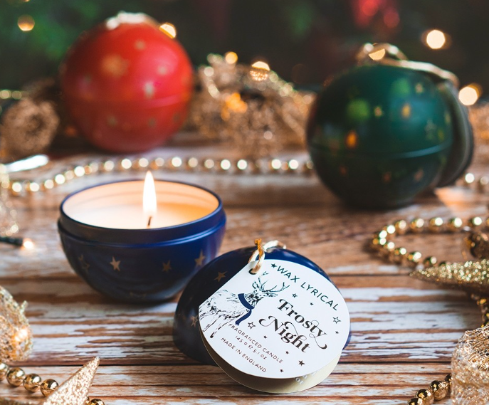 Wax Lyrical Bauble Candle
