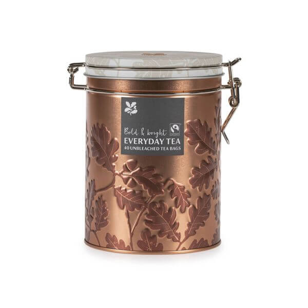National Trust shortbread collection tea tin by tinplate