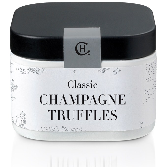 Example Monochrome Design Tin - Hotel Chocolat Truffle Tin