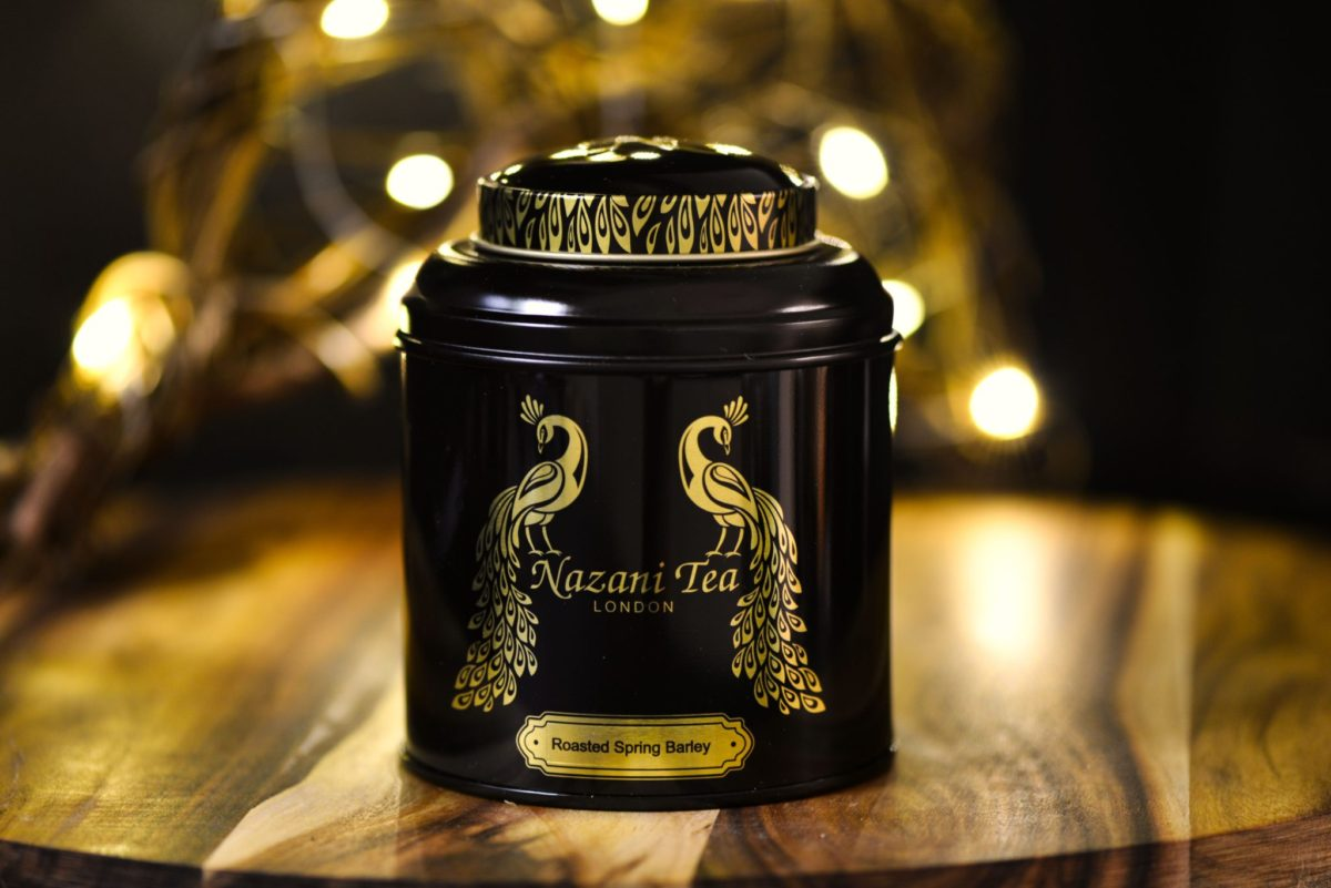 Example Plastic Free Tin - Nazani Tea Tin