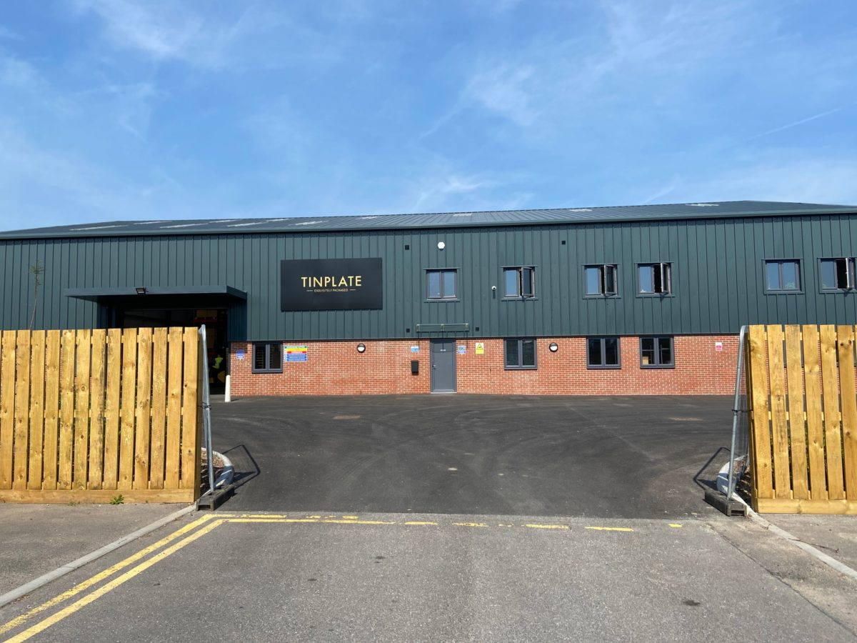 Tinplate's New Factory Opens Doors and Opportunities