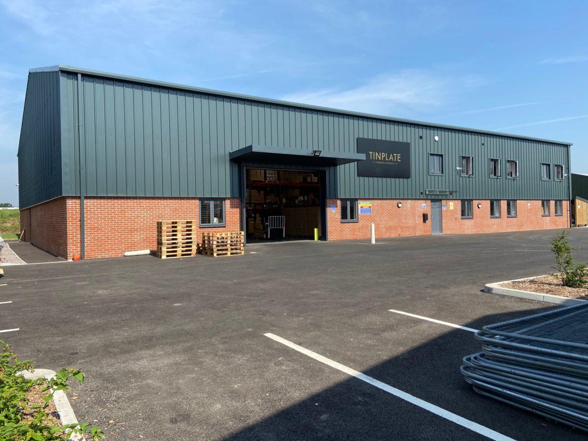 Tinplate factory exterior